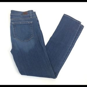 PAIGE Skyline Ankle Peg Skinny Stretch Jeans 27